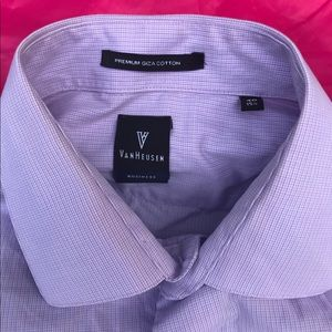 Van Heusen, Size 40, 15.4, Business Giza Cotton